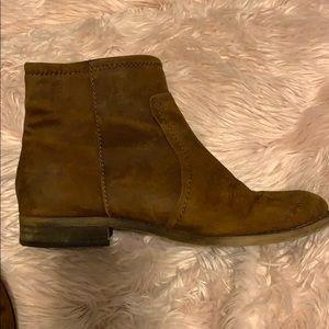 Franco Sarto rust color booties